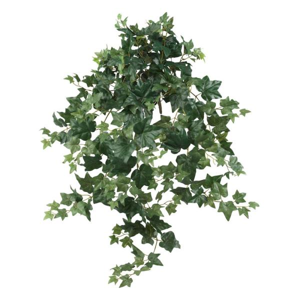 Indoor 41 in. Puff Ivy Hanging Artificial Plant (2-Set)