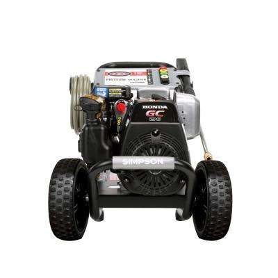 MegaShot 3,200 PSI 2.5 GPM Gas Pressure Washer Powered by Honda