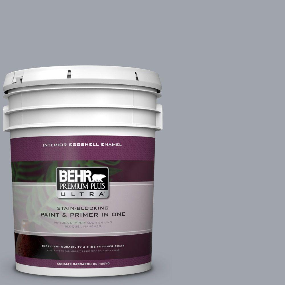behr premium plus ultra 5 gal ppu26 19 chance of rain eggshell enamel interior paint 275405. Black Bedroom Furniture Sets. Home Design Ideas