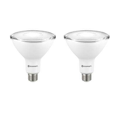 90-Watt Equivalent PAR38 Dimmable Energy Star LED Flood Light Bulb Daylight (2-Pack)