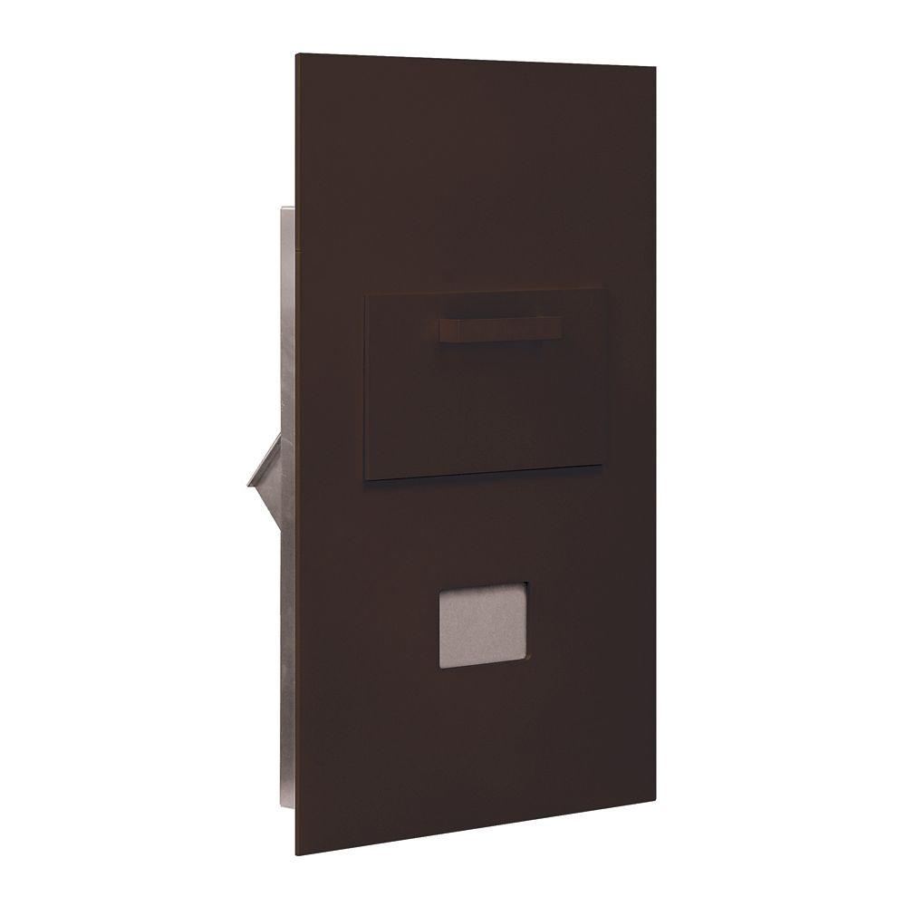 3600 Series Collection Unit Bronze Private Rear Loading for 6 Door