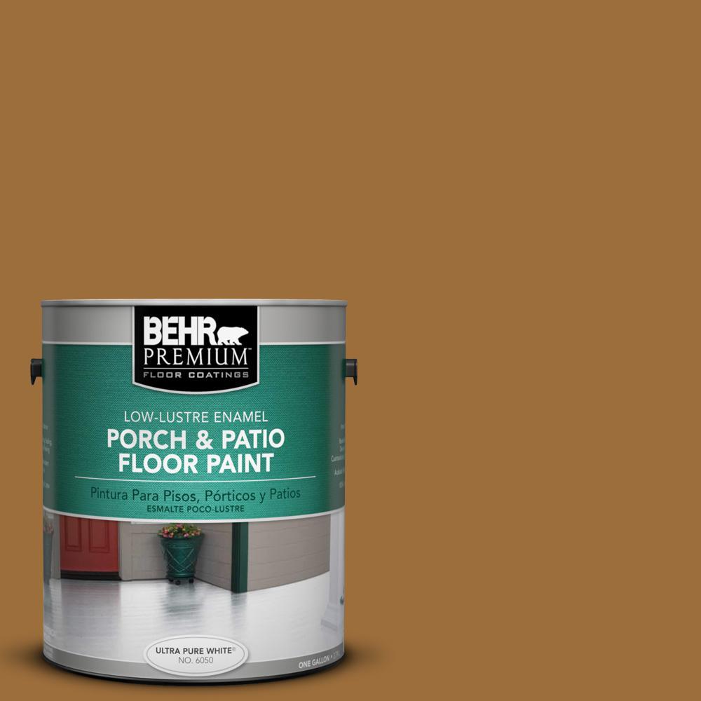 1 gal. #SC-146 Cedar Low-Lustre Porch and Patio Floor Paint