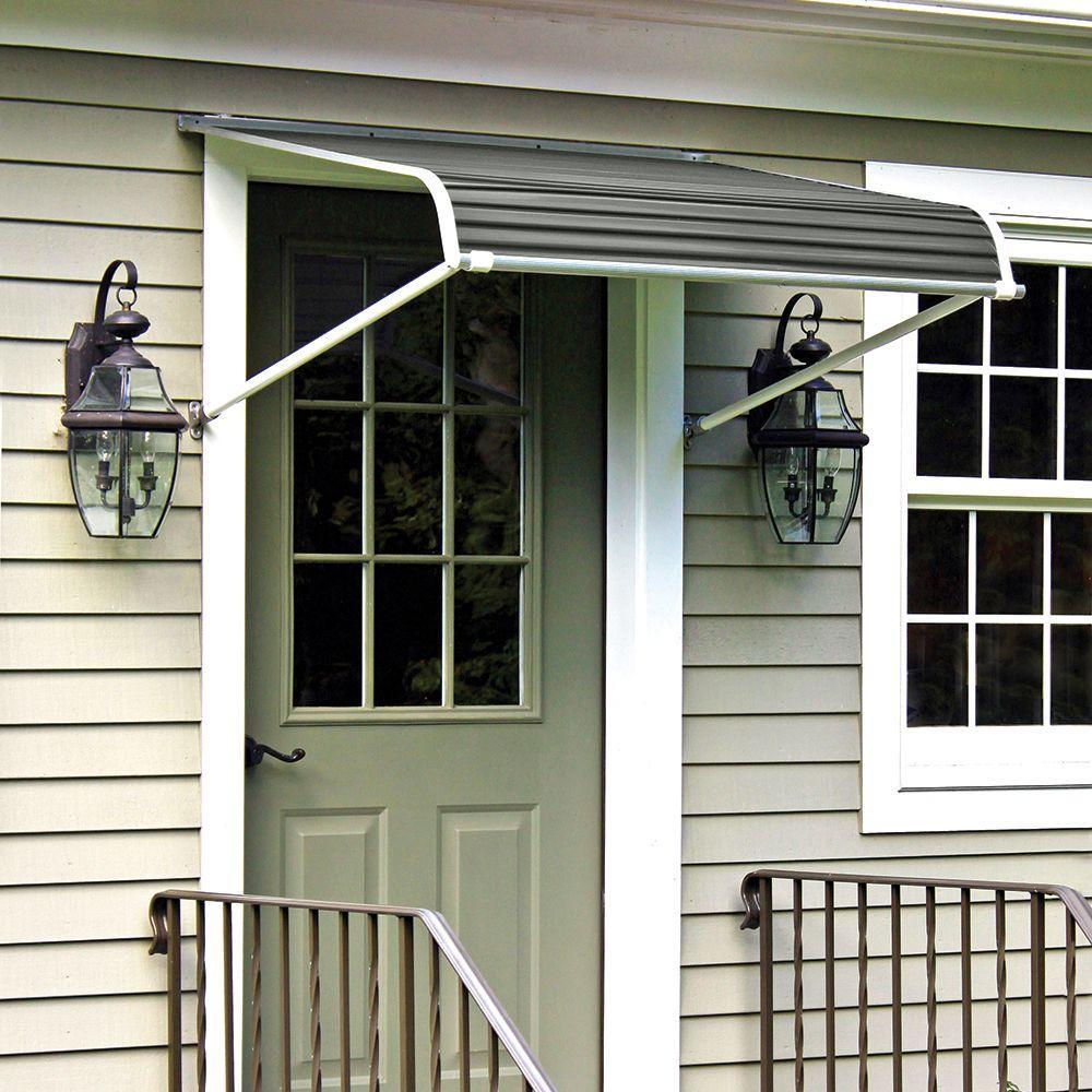 Nuimage Awnings 3 33 Ft 1100 Series Door Canopy Aluminum Awning 20