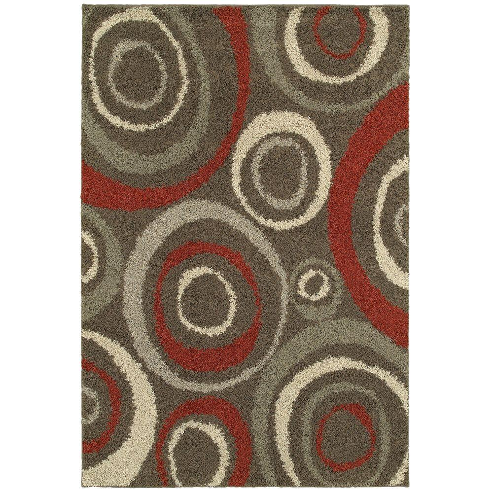 Home Decorators Collection Orbit Mushroom 10 Ft X 12 Area Rug