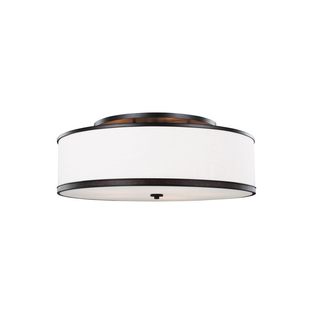 Marteau 5-Light Oil Rubbed Bronze Ceiling Fixture