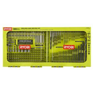 Deals on Ryobi A982002QP Black Oxide Drill and Drive Kit 200-Piece