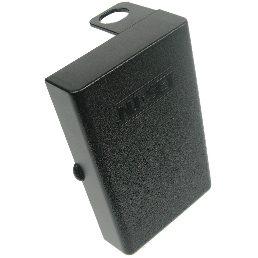 NUSET Weatherproof Jacket for Key Storage Lockbox in Black