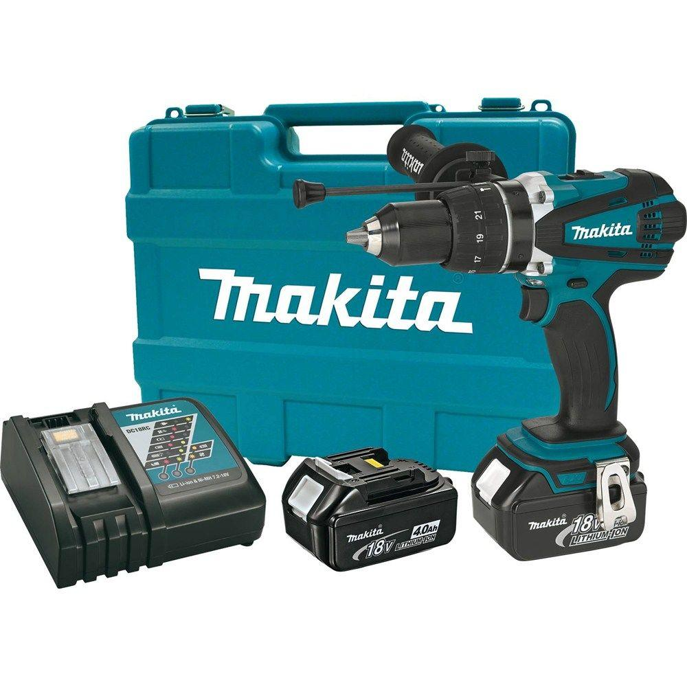 Makita 18 Volt Lxt Lithium Ion 1 2 In Cordless Hammer