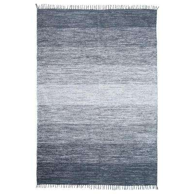 Cotton Ombre Blue 5 ft. x 7 ft. Area Rug