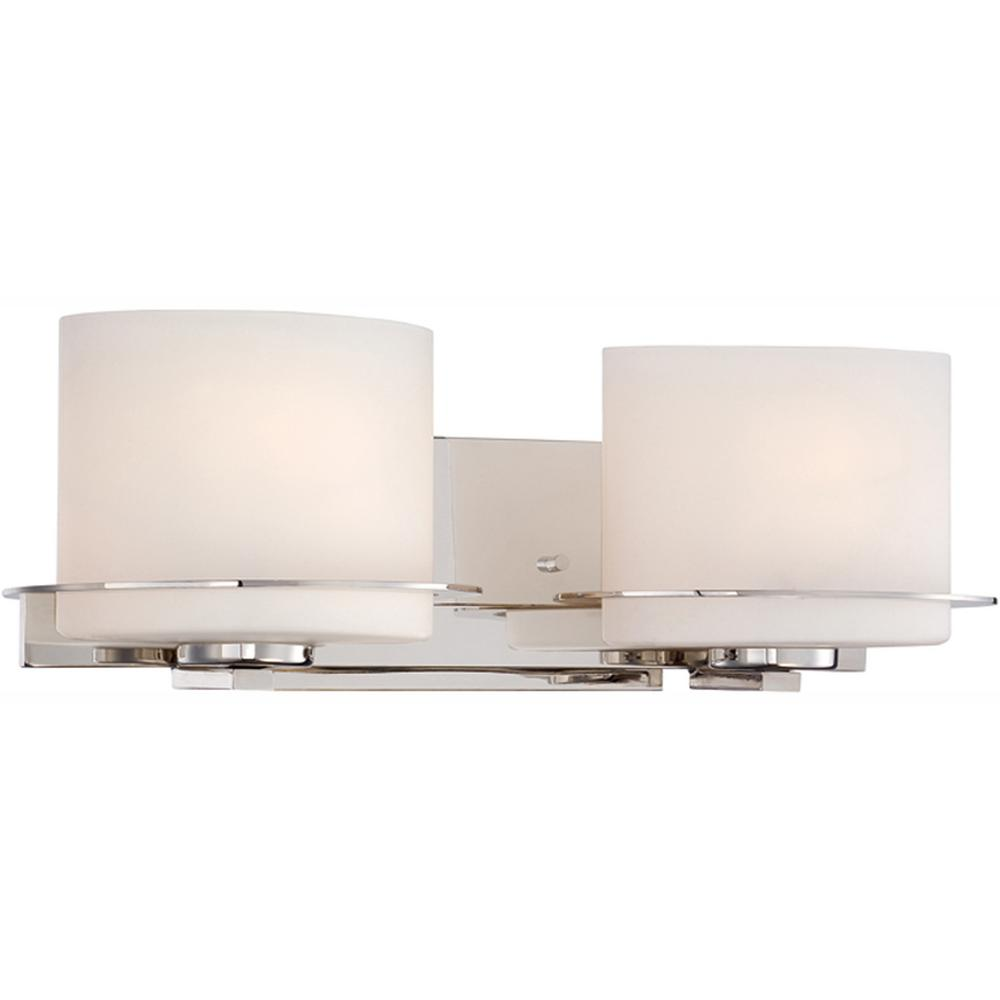 Light Polished Nickel Vanity Fixture