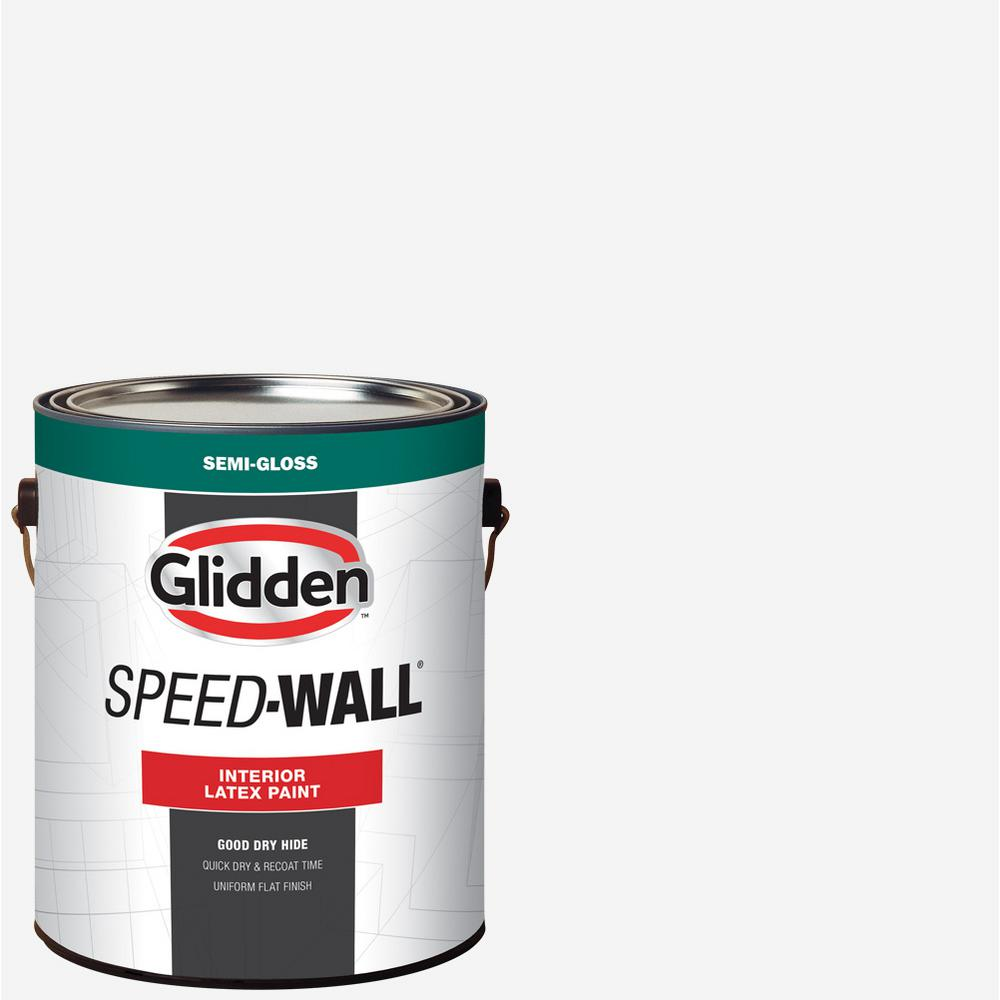 Glidden Pro At The Home Depot: Glidden Professional 1 Gal. Speed-Wall Semi-Gloss Interior