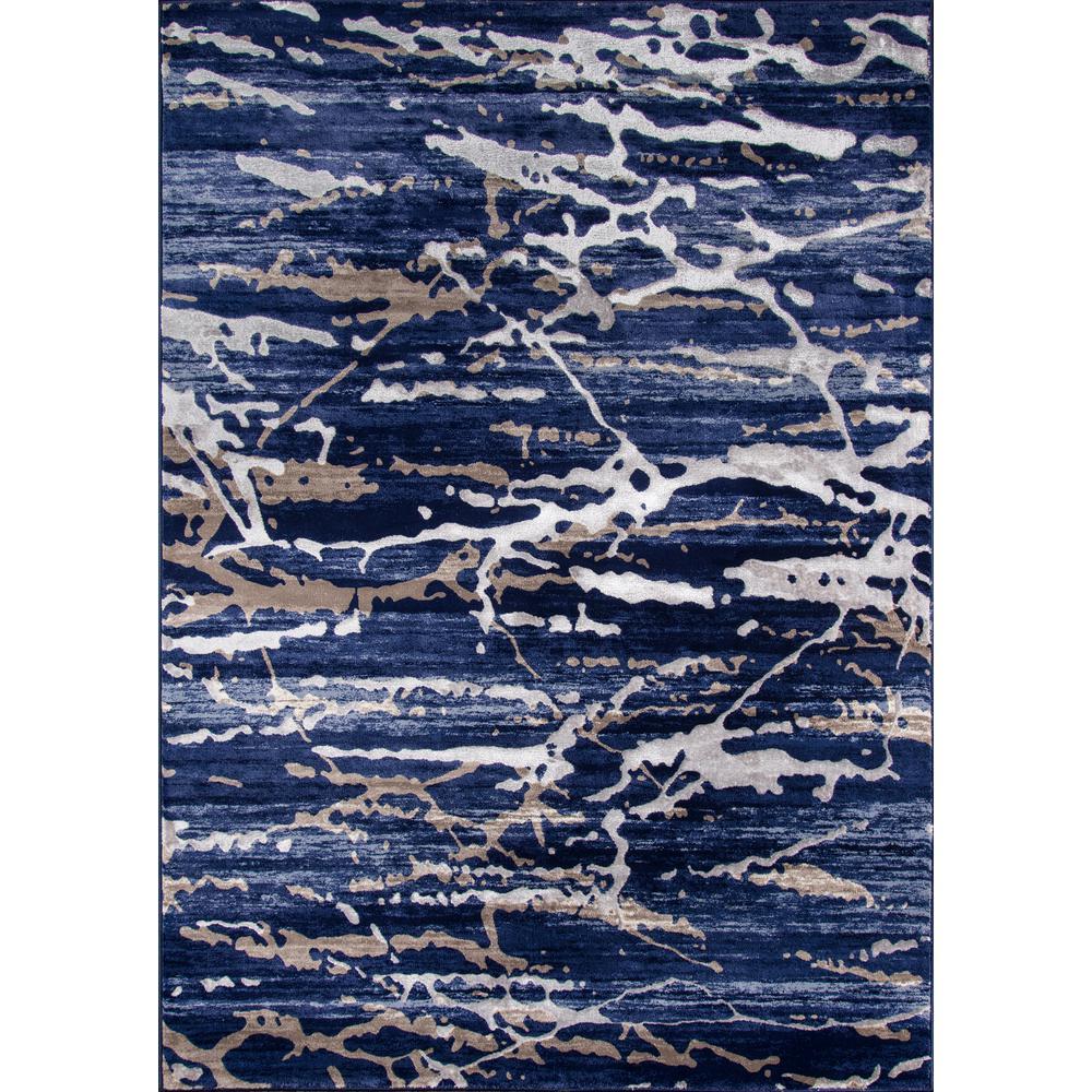 Monterey Blue 8 ft. x 10 ft. Indoor Area Rug