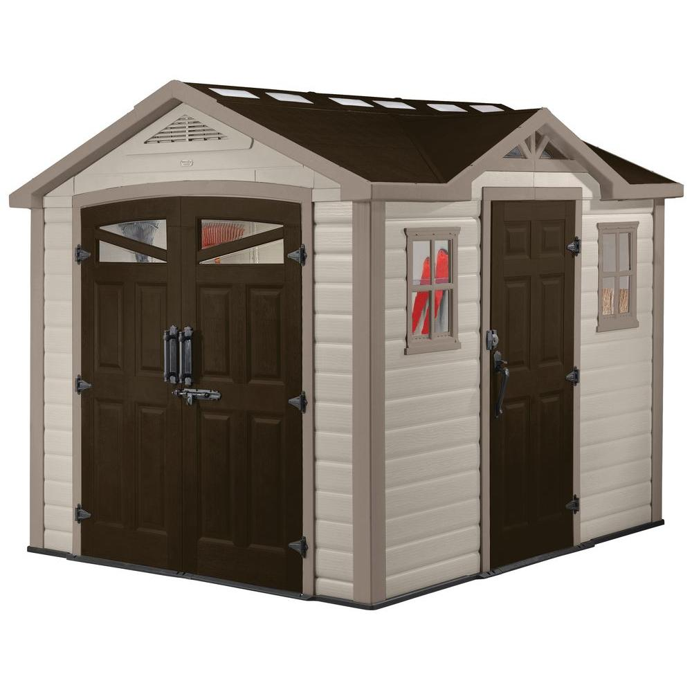 Keter 9 ft. x 8 ft. Summit Shed