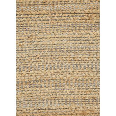 Natural Tapioca 8 ft. x 10 ft. Solid Area Rug