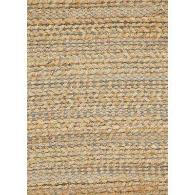 Natural Tapioca 9 ft. x 12 ft. Solid Area Rug