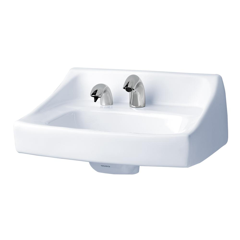 Toto Commercial 21 In Wall Mount Bathroom Sink With