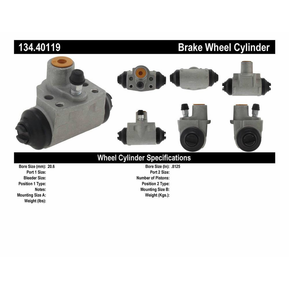 Centric Parts 134.66004 Drum Brake Wheel Cylinder