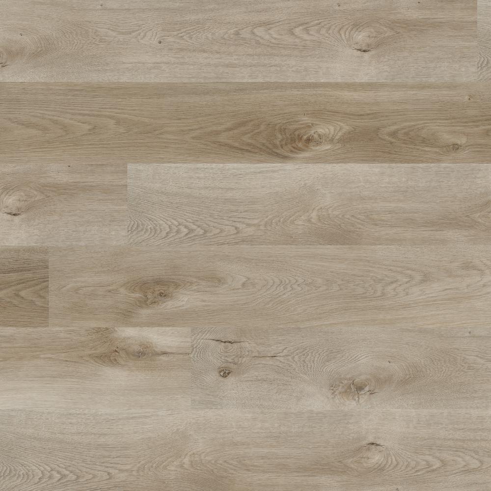 Provance Gray 7.13 in. W x 48.03 in. L Rigid Core Luxury Vinyl Plank Flooring (23.77 sq. ft./case)