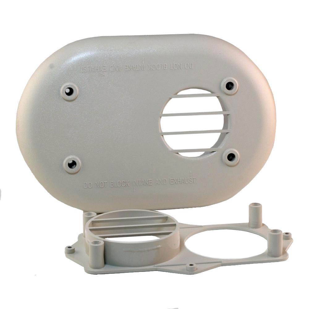 3 in. PVC Horizontal Vent Kit for High Efficiency Fossil Fuel