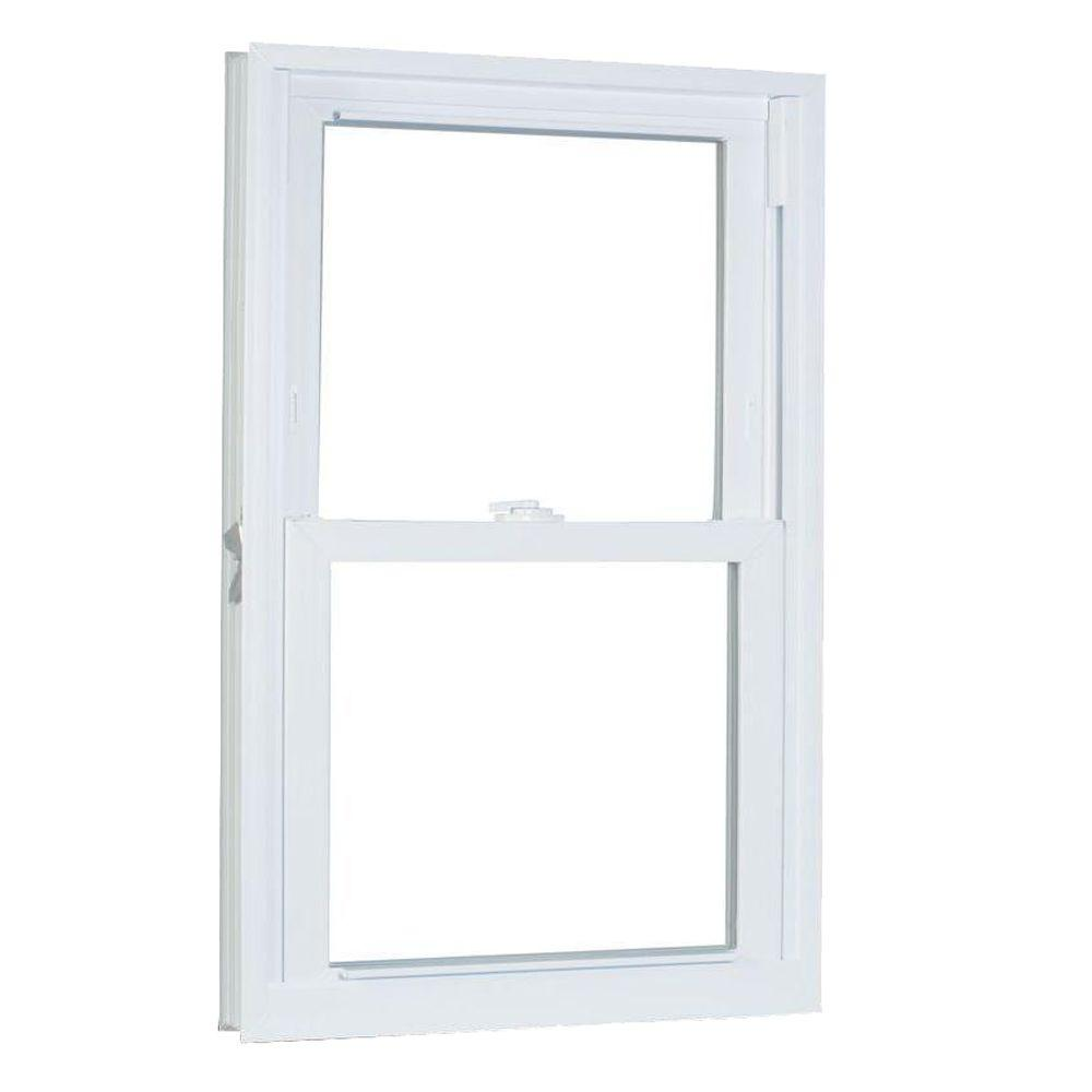 27.75 in. x 41.25 in. 70 Series Pro Double Hung White