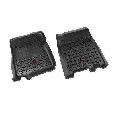 Floor Liner Front Pair Black 1997-2003 Ford F150