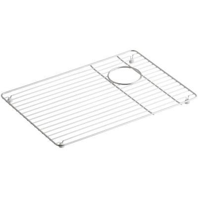 Riverby 14.125 in. x 20.375 in. Sink Bowl Rack in Stainless Steel