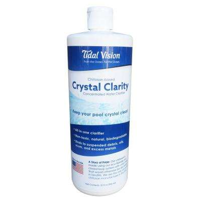 Crystal Clarity 1 Qt. Pool and Spa Natural Clarifier