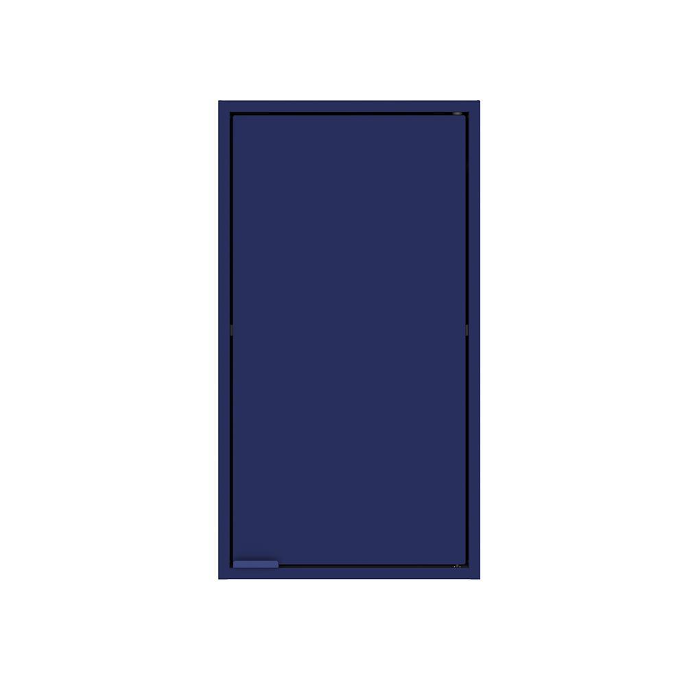 Smart 25.19 in. H x 13.77 in. W x 11.22 in. D Floating Cabinet in Blue