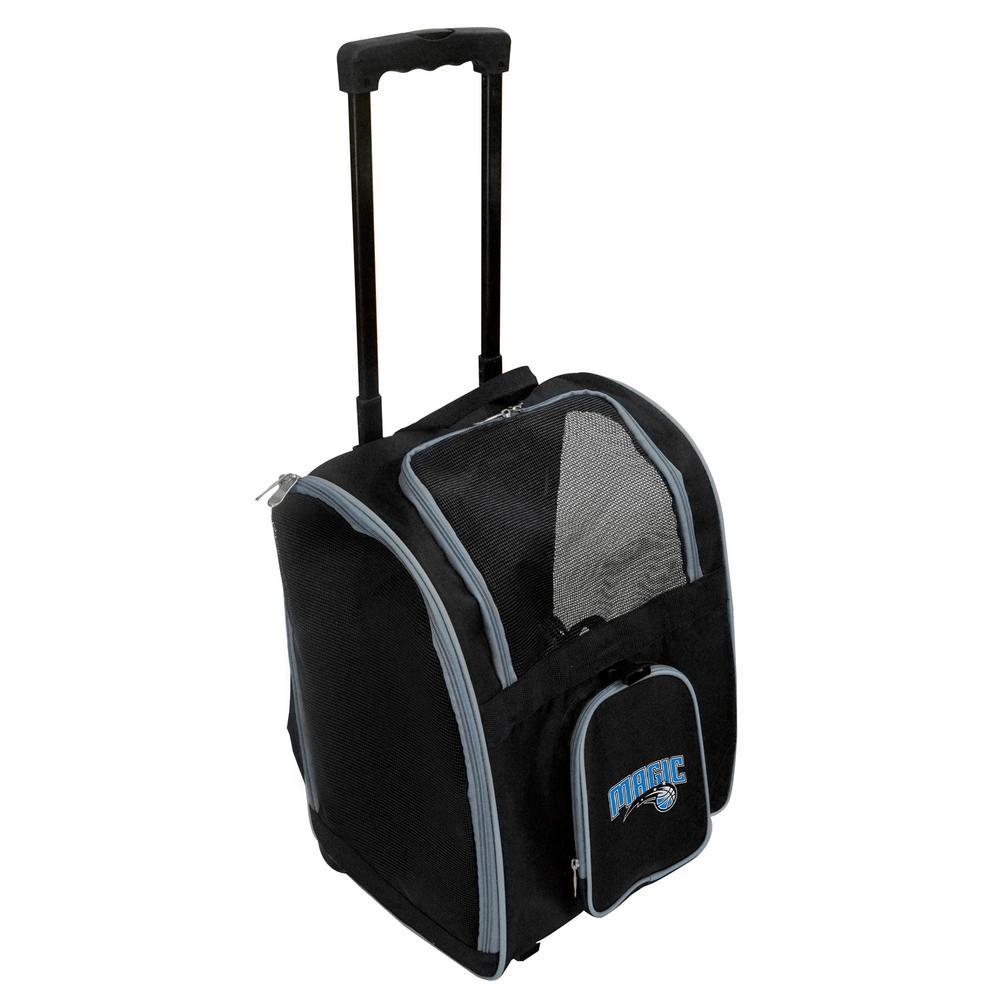 NBA Orlando Magic Pet Carrier Premium Bag with wheels in Gray