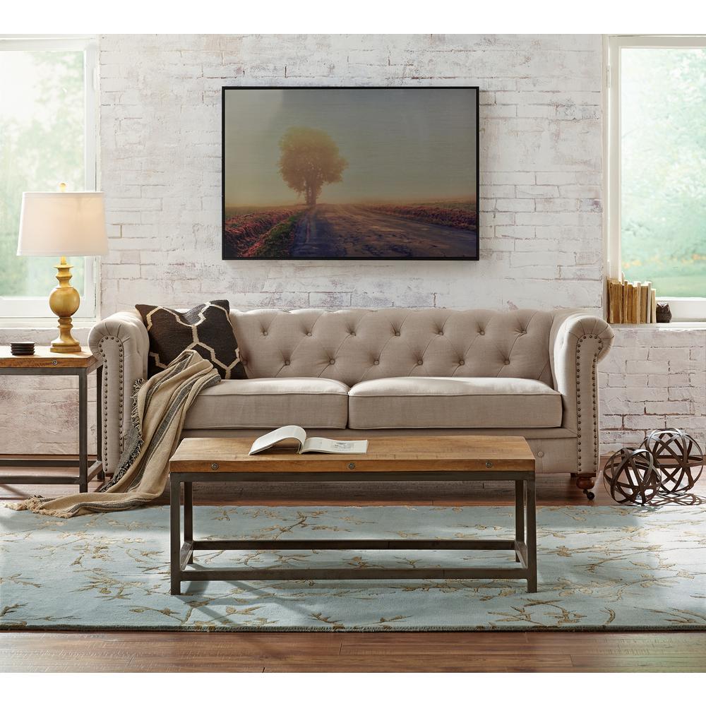 +12. Home Decorators Collection Gordon Natural Linen Sofa