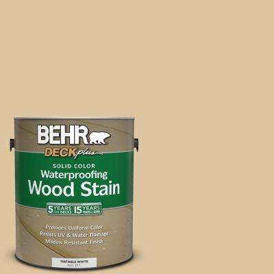 1 gal. #320E-3 Riviera Sand Solid Color Waterproofing Wood Stain