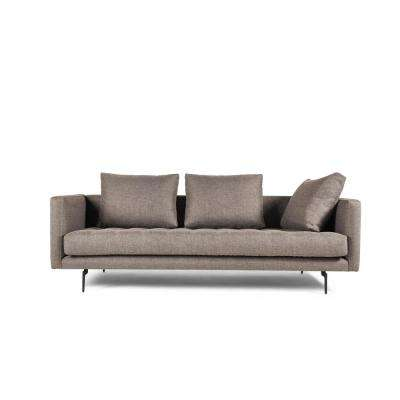Granville 3-Seat Beige Champaign Tweed Sofa