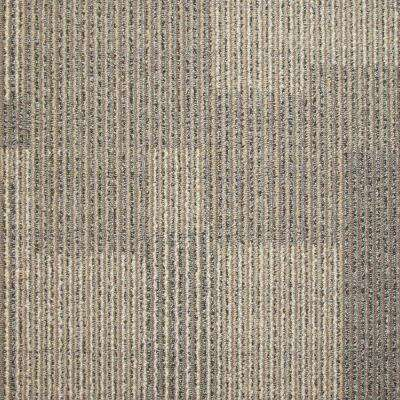 Rockefeller Cork Loop 19.7 in. x 19.7 in. Carpet Tile (20 Tiles/Case)