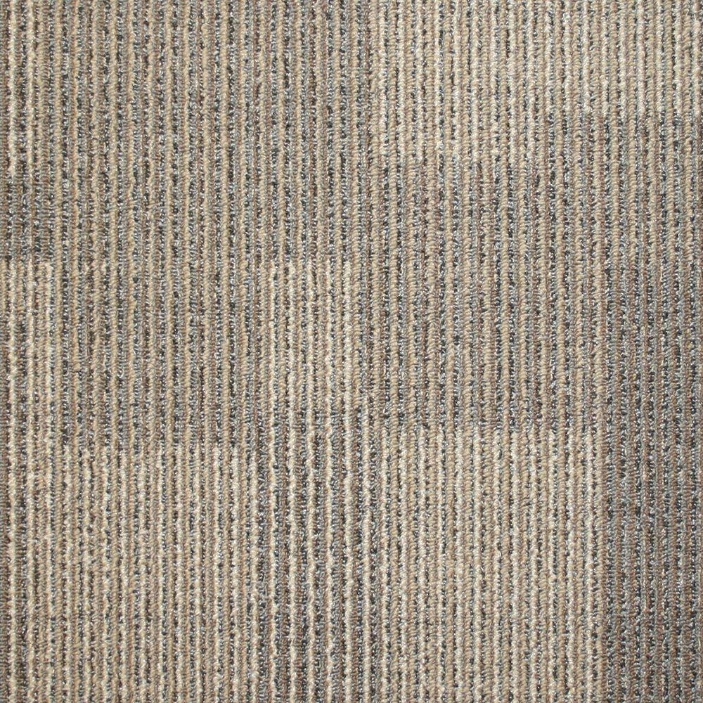 TrafficMASTER Rockefeller Cork Loop 19.7 in. x 19.7 in. Carpet Tile (20 Tiles/Case)