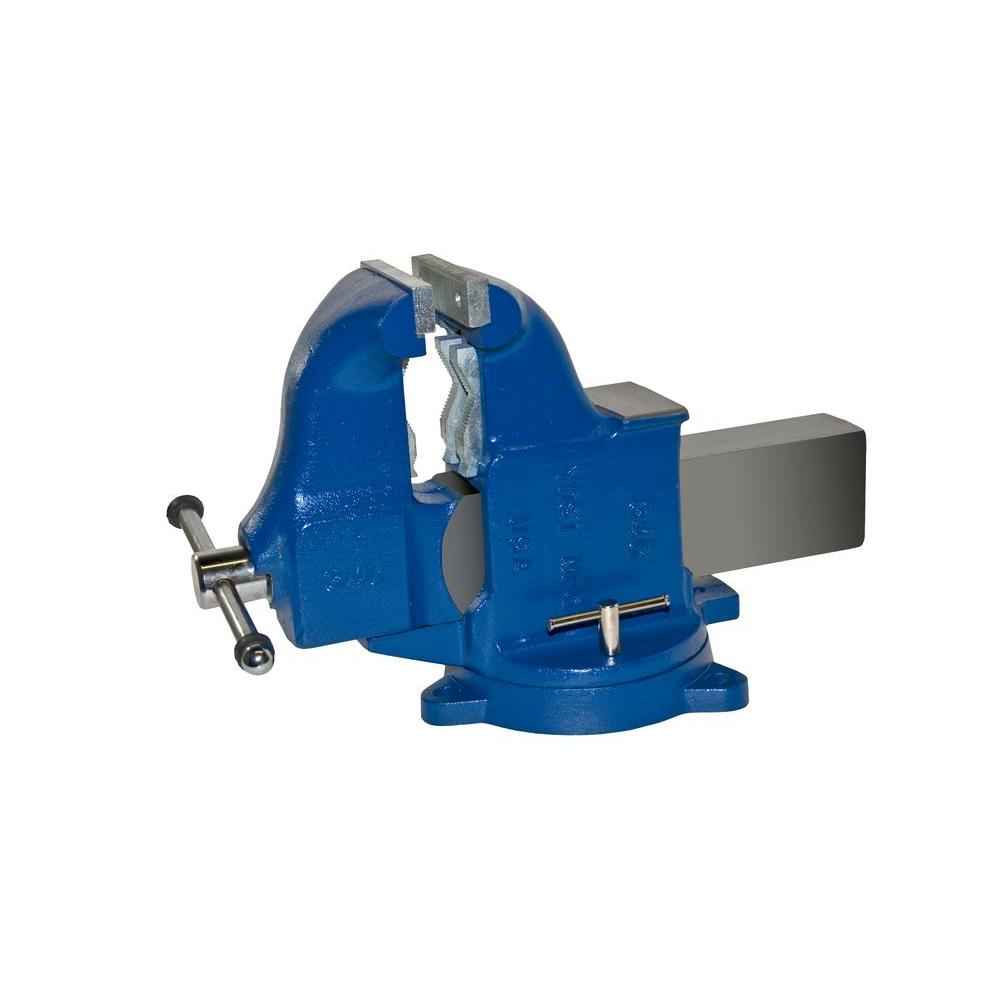 yost 6 in heavy duty combination pipe and bench vise swivel base
