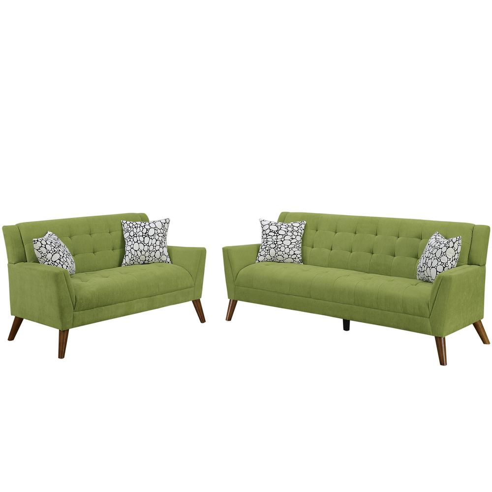 Venetian Worldwide Cagliari 2 Piece Willow Sofa Set