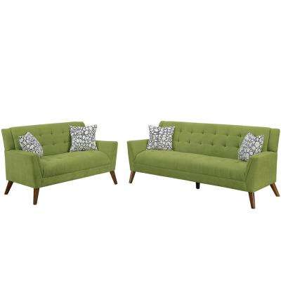 Cagliari 2-Piece Willow Sofa Set