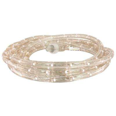 27 ft. White LED Rope Light Kit