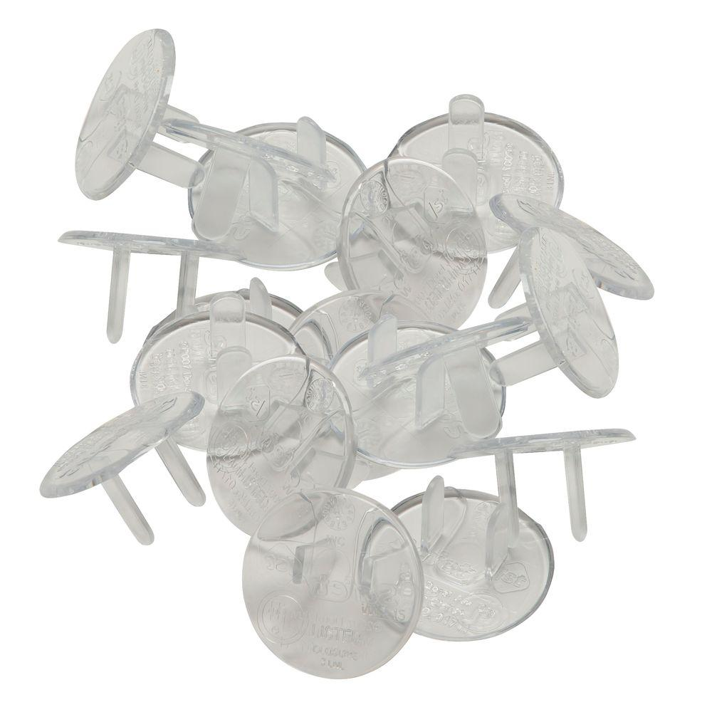 Safety 1st Ultra Clear Plug Protectors (18-Pack)