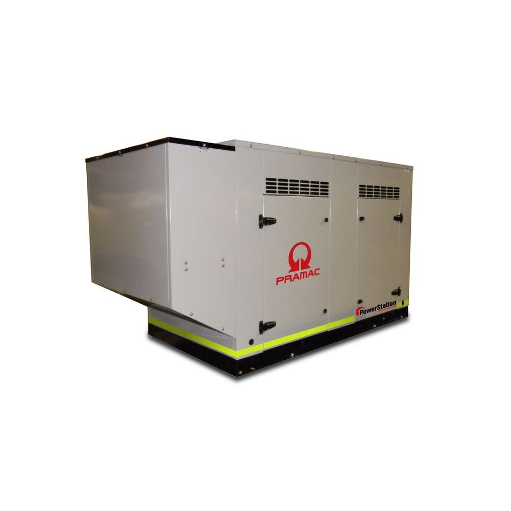 null 25,000-Watt 37.6-AmpLiquid Cooled Genset Standby Generator