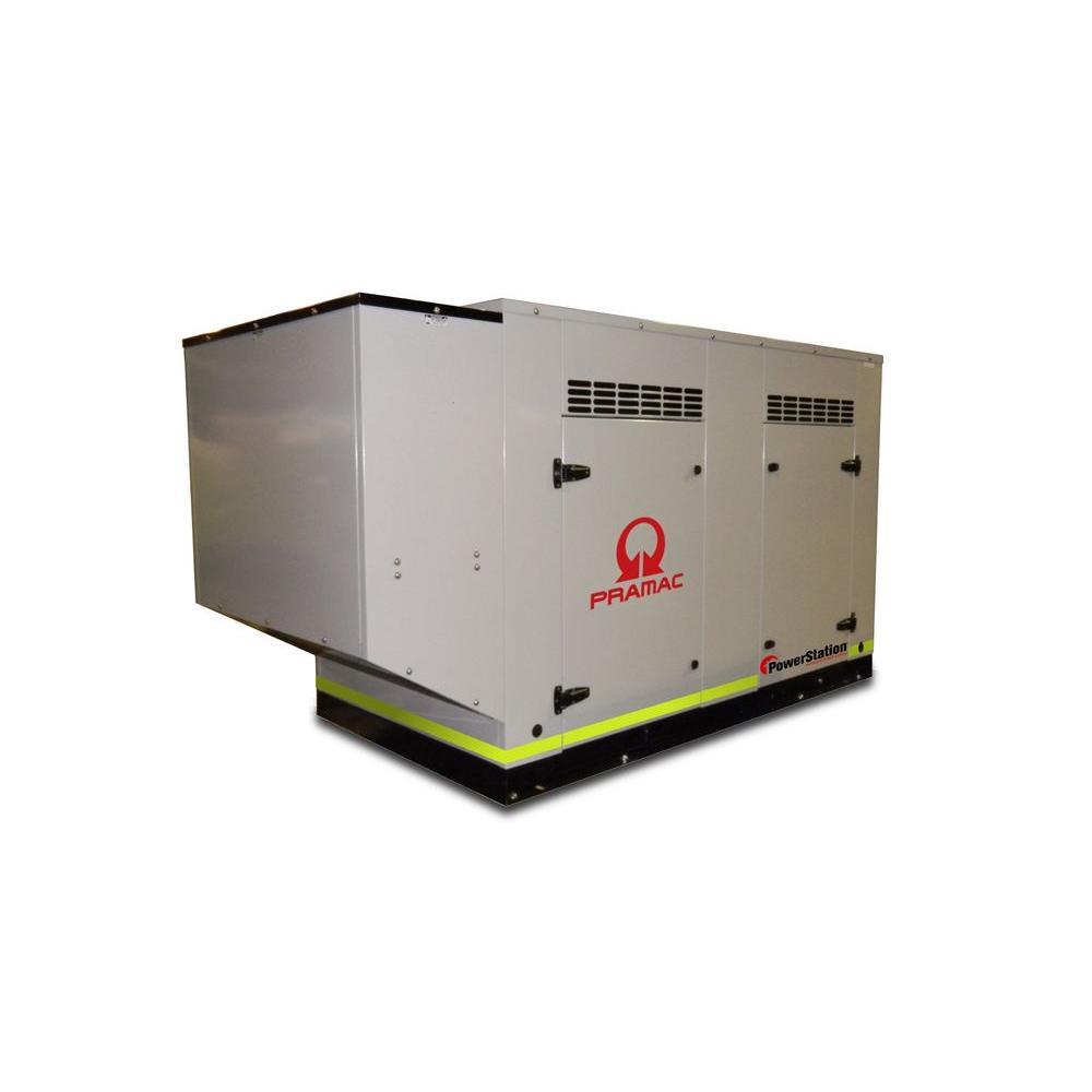 null 50,000-Watt 208.3-Amp Liquid Cooled Genset Standby Generator