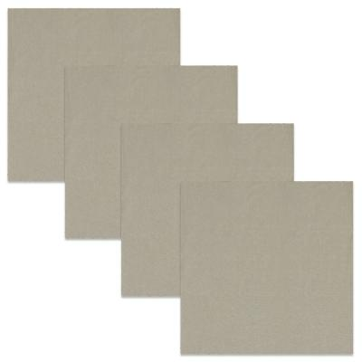 Tasty 21 in. W x 21 in. H Truffle Cotton Napkins (Set of 4)