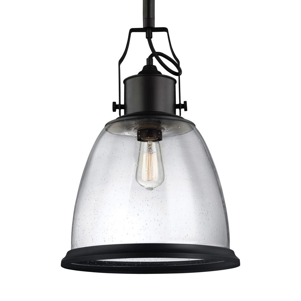 Globe Electric 3-Light Oil Rubbed Bronze And Glass Vintage