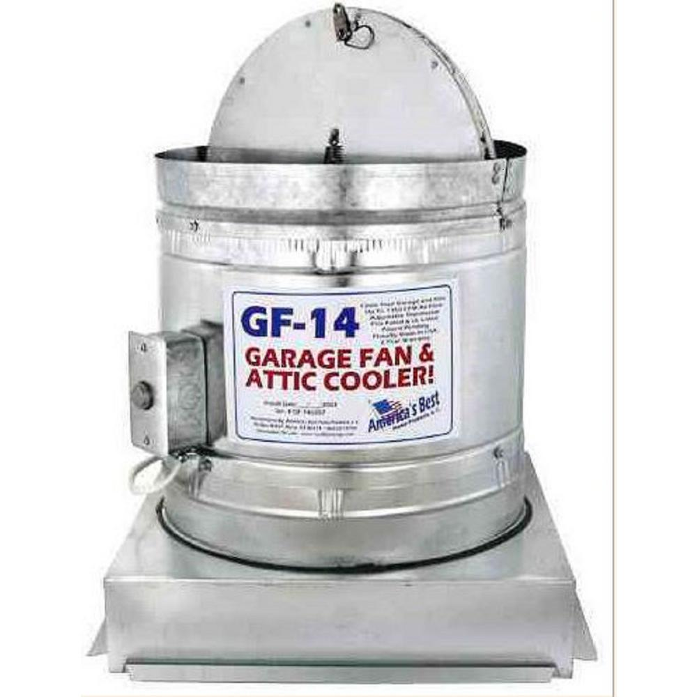 850 CFM Electric Garage Exhaust Fan