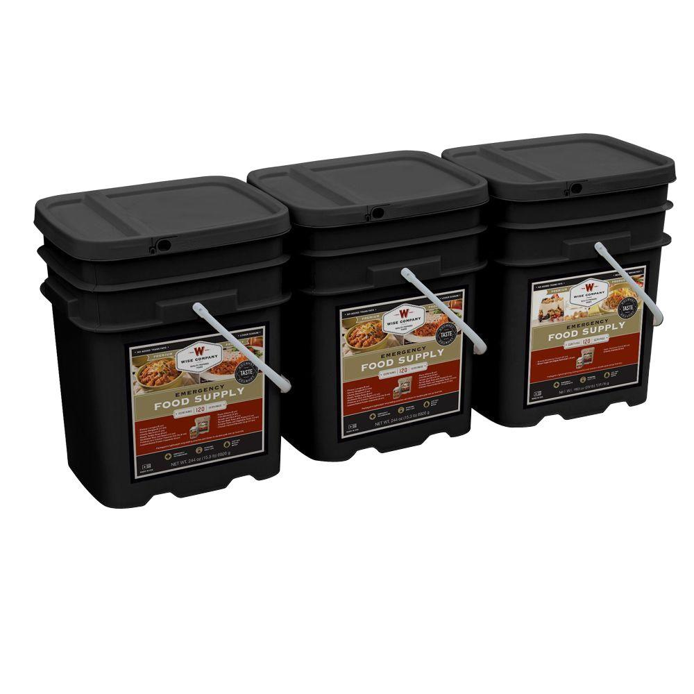 Wise Company 360 Emergency Serving Package