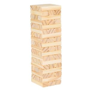 10 5 In Tabletop Wooden Wobble Stacking