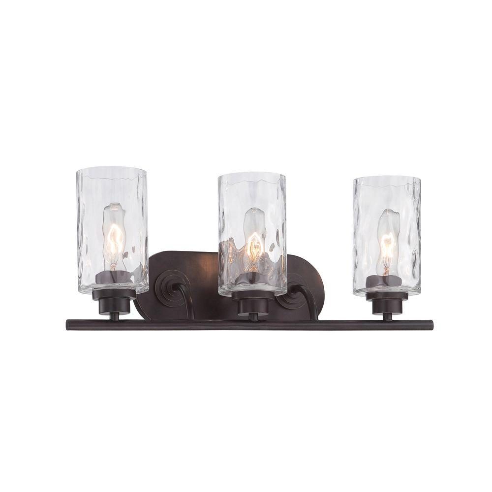 Designers Fountain Gramercy Park 3 Light Old English Bronze Interior Incandescent Bath Vanity Light