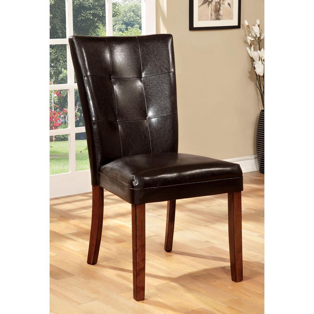 Elmore Antique Oak Contemporary Style Side Chair
