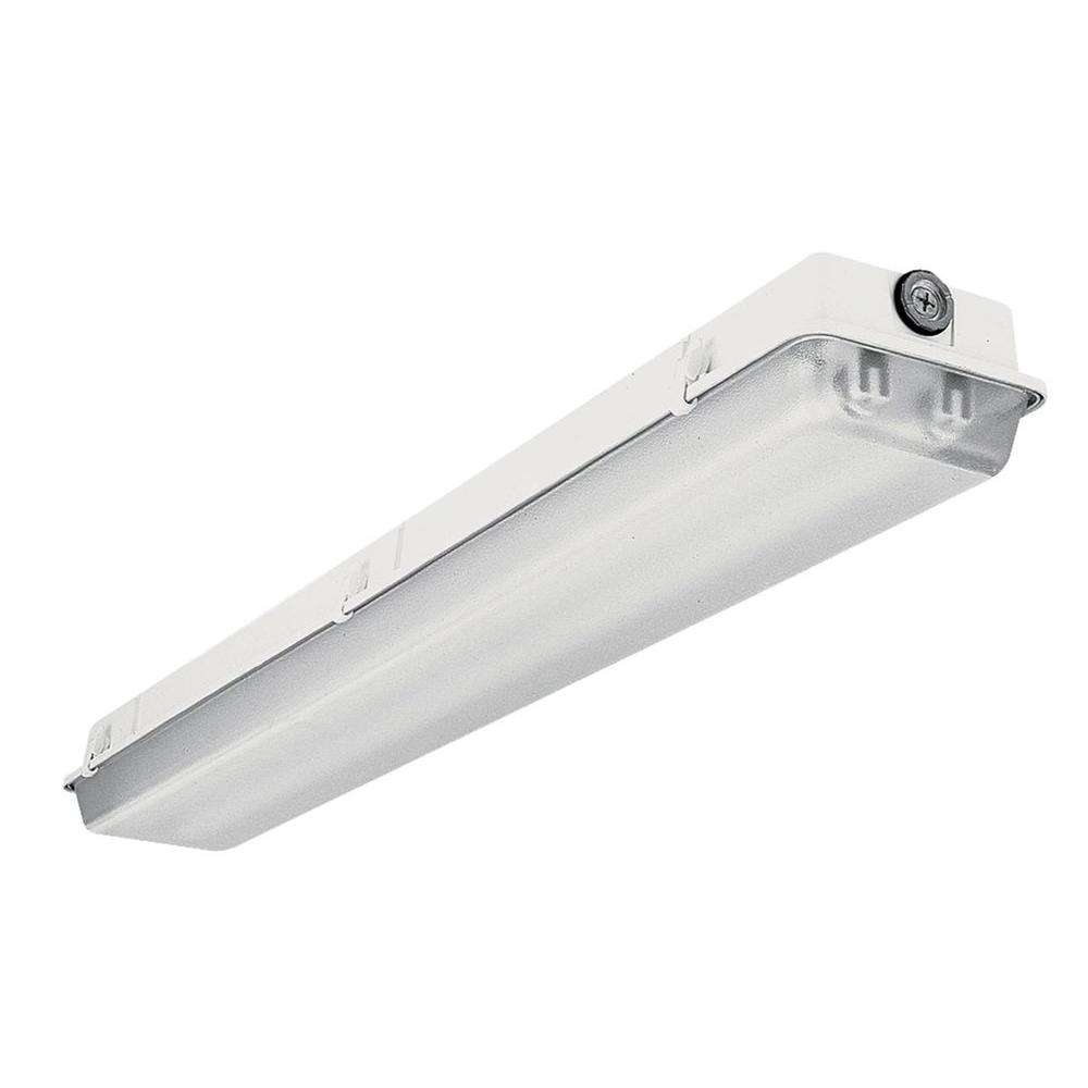 Lithonia Lighting 2 Light 4 Ft White T5 High Output Fluorescent Wet Strip