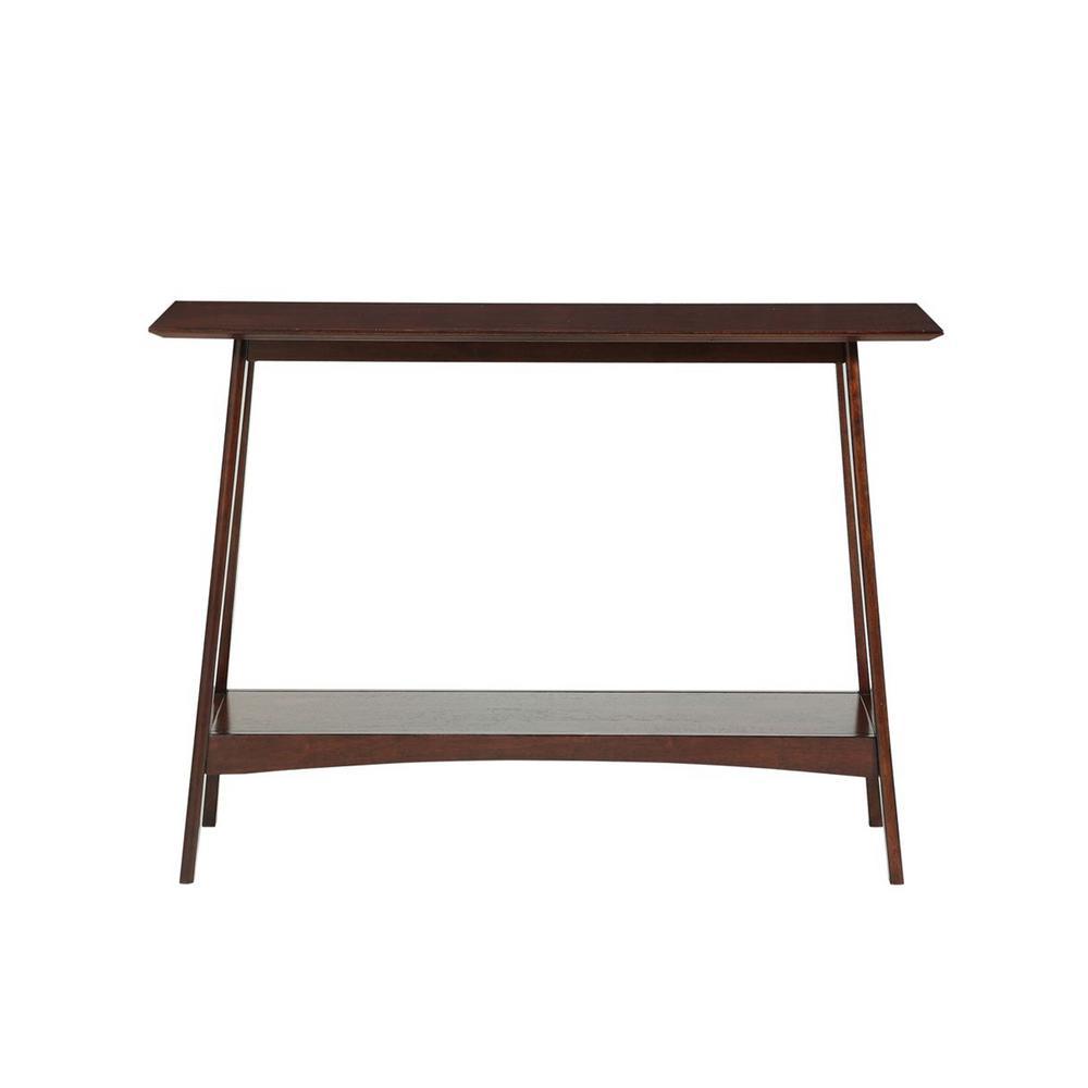 Convenience Concepts Alpine Espresso Console Table V2-131